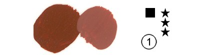339 Light Oxide Red, farba akrylowa Rembrandt 40 ml