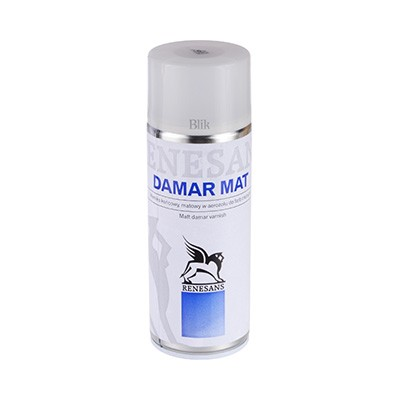 Werniks damarowy mat Renesans spray 400 ml