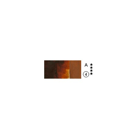 519 Rich Transparent Red Oxide Red Iron Oxide, farba akrylowa